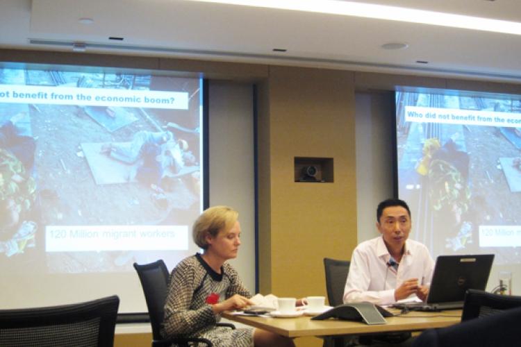 参加在香港由英国商会举办企业社会责任论坛